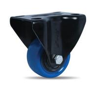 Bánh xe nhựa PU dòng 260 tải trọng trung bình trục cố định Ethos 262UBZ063P01
