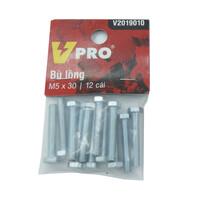 Bù lông M5x30 VPRO V2019010 túi 12 cái