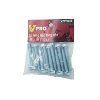 Bù lông liền lông đền M8x50 VPRO V2019046 túi 10 cái