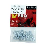 Đai ốc M5 VPRO V2019013 túi 18 cái