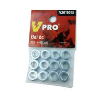 Đai ốc M8 VPRO V2019015 túi 12 cái