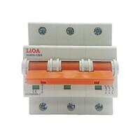 Aptomat loại 3 cực dòng điện 63A LiOA MCB3063/6