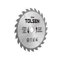 Đĩa cắt gỗ 40 răng 235mm Tolsen 76450