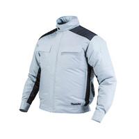 Áo khoác làm mát dùng pin Makita DFJ416Z màu xám đen