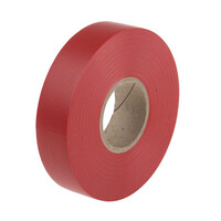 RS PRO Red PVC Electrical Tape, 19mm x 33m (1347323)