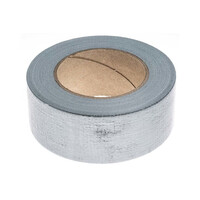 RS PRO Gloss Silver Duct Tape, 50mm x 50m, 0.17mm Thick (1466827)