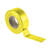 RS PRO Gloss Yellow Cloth Tape, 50mm x 50m, 0.23mm Thick (1467415)
