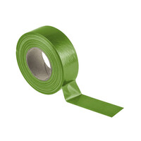 RS PRO Gloss Green Cloth Tape, 50mm x 50m, 0.23mm Thick (1467417)