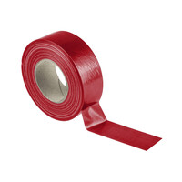 RS PRO Gloss Red Cloth Tape, 50mm x 50m, 0.23mm Thick (1467418)