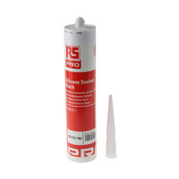 RS PRO Black Silicone Sealant Paste 310 ml Cartridge (512783)