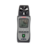 RS PRO IM-740 Rotary Vane 25m/s Max Air Velocity Air Velocity, Temperature Anemometer (1065314)