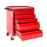 RS PRO 160 Piece Engineers Tool Kit with Trolley (1253048)