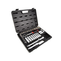 RS PRO 32 Piece Socket Set, 1/2 in Square Drive (2297278)