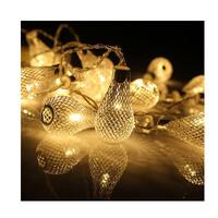 Dây đèn LED trang trí dài 5m, 20 bóng hình lọ có remote điều khiển từ xa dùng pin