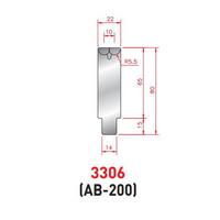 Cối chấn xoay V10 kích thước 80x500 Eurostamp JES330600500