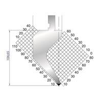 Dao chấn kích thước 104,65x805 Eurostamp JES117300835