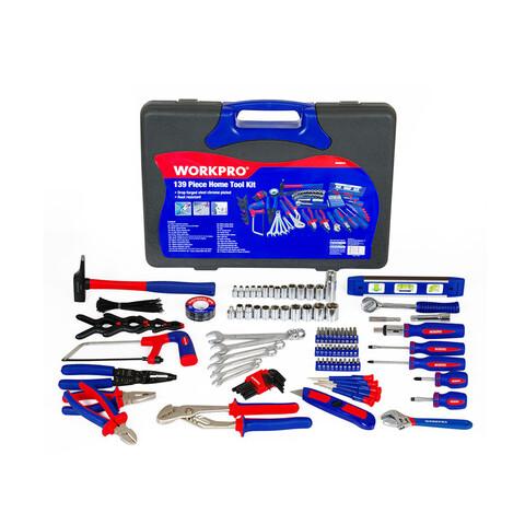 Bộ dụng cụ cầm tay 139 chi tiết Workpro W009024