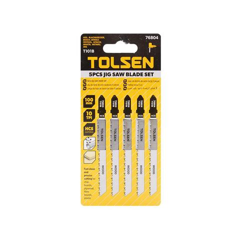 Lưỡi cưa máy gỗ 100mm T101B Tolsen 76804