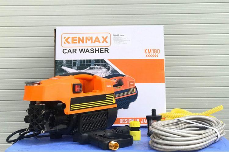 Máy xịt rửa xe 1800W/330l/h cao cấp Kenmax KM180